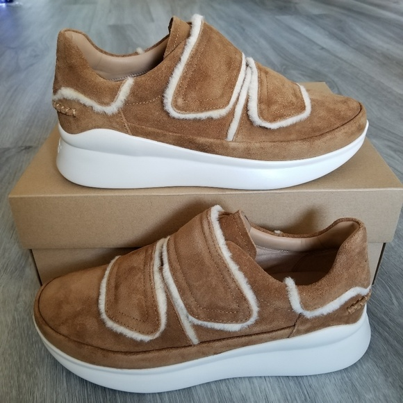 194eba23cb7 NEW UGG Ashby Spill Seam Sneakers NWT
